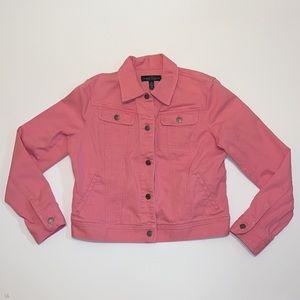 Ralph Lauren Polo pink denim jacket